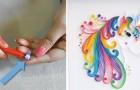 Quillinggekte: maak van strookjes papier echt mooie kunstwerkjes