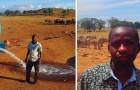 Cet homme parcourt tous les jours des dizaines de kilomètres dans la chaleur africaine pour sauver les animaux de la sécheresse