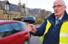 Dans un village écossais, les habitants ont réussi à faire respecter la limite de vitesse ... avec un sèche-cheveux!