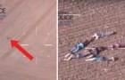 L'hélicoptère de la police est à la recherche d'un criminel: l'idée de ces enfants met fin à la chasse