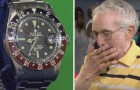 He bought a Rolex in 1960 for $120 USD and years later he took it to an expert that valued it at $75,000 USD