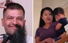 Queria que el marido se cortase la barba: cuando èl la acontenta queda con la boca abierta
