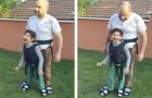 Ingenious dad gives paralyzed son a fantastic experience!