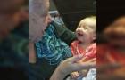 A deaf grandmother teaches deaf grandbaby sign language!