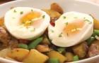 Ein Trick, um halbgekochte Eier ohne Schale schnell und idiotensicher zuzubereiten!