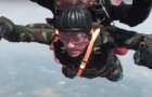 A 96-year-old WWII paratrooper misses the adrenaline rush!