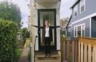 Una casa larga 1 metro... O poco più! L'astuta rivalsa di una donna sul suo ex marito