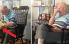 Mit 13 Jahren Waise, dieser Mann erhält ein Foto der Mutter: die Reaktion ist rührend