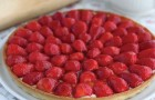 A strawberry tart that tastes as good as it looks! WoW!