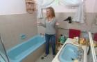 Sa salle de bain était une catastrophe, mais elle a réussi à la transformer avec peu d'argent et peu d'effort