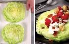 Isbergsallad och ost: en blandning som ni kommer att vilja prova direkt!