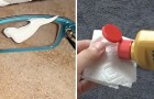 Discover how to recuperate scratched eyeglass lens!