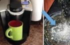 Wenn es dir nicht gut geht könnte das die Schuld deiner Kaffeemaschine sein...
