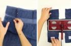 Come riutilizzare un vecchio asciugamano nelle pulizie casalinghe... Facilissimo!