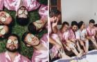 Die Braut studiert Informatik und hat nur männliche Freunde: Die Fotos vom