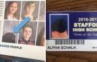 In het jaarboek van school staat een foto van een hond: ja ook hij was bij alle lessen aanwezig