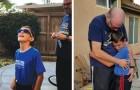Les larmes de joie d'un enfant qui voit les couleurs pour la première fois