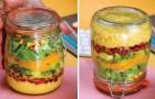 Couscoussalade in een pot, de meest praktische en smaakvolle salade voor onderweg!