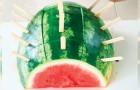 2 praktiska och originella idéer att komma ihåg när du serverar vattenmelon