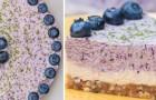 Cheesecake mirtilli e lime senza lattosio: così buona che non arriverà a domani
