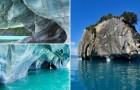 Una piccola opera d'arte di madre natura: ecco a voi le Caverne di Marmo