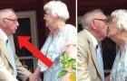 90 ljus och 70 års äktenskap: här är den fina serenaden från en man till hans livs kärleken