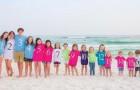 17 cousins dans une photo: ce cliché montre toute la joie des familles nombreuses