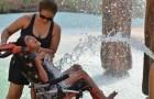 Ha aperto il primo parco acquatico per disabili: un'iniziativa che fa bene al cuore