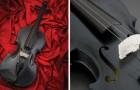 Questo violino FUNZIONANTE è fatto con una pietra vecchia di 1.5 miliardi di anni