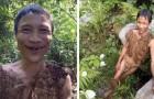 Sein Vater brachte ihn in den Wald, damit er den Bombardements in Vietnam entkomme: 40 Jahre später finden sie ihn immernoch dort