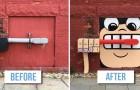 C'è uno street artist GENIALE che si aggira per New York... speriamo che nessuno lo fermi!