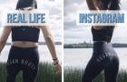 Une jeune blogueuse dit la vérité sur les photos publiées sur Instagram