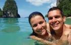 Sie verzichten auf die Hochzeitsfeier um eine große Reise zu machen, die sie in mehr als 20 Länder brachte