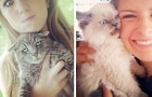 25 fois où les chats n'ont pas voulu prendre part aux selfies et ont rendu la photo hilarante