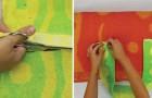 Come trasformare dei vecchi asciugamani in un telo da spiaggia con cuscino incorporato
