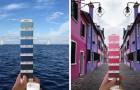 Un designer italiano gira il mondo per trovare le scale Pantone nei paesaggi naturali e nelle città