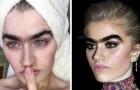 Sie verzichtet darauf, sich die Augenbrauen zu zupfen: Hier das Model, das die Stereotype von Schönheit neu definiert