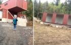 Esta mulher construiu a casa dos seus sonhos com 4 contêineres navais