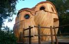Je kan in deze houten uilen slapen HELEMAAL VOOR NIKS en het zuiden van frankrijk bezoeken: zo zien ze er van binnen uit