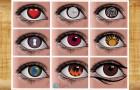 Il test dei 9 occhi: scegliete quello da cui vi sentite attratti e scoprite cosa dice della vostra personalità