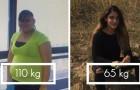 Pesava oltre 100 kg: questa ragazza mostra cosa fanno al corpo 2 anni di allenamento