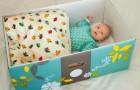 Na Finlândia, as crianças dormem em caixas de papelão: um costume que reduziu as mortes no berço