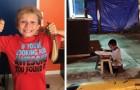 20 foto di bambini che hanno compiuto atti di generosità esemplari