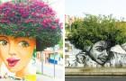 Street Art vermengd met de natuur: 19 machtig mooie voorbeelden van hoe graffiti een stad kan omtoveren