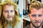 30 Fotos die zeigen dass ein Haarschnitt viel besser ist als ein schönheitschirurgischer Eingriff