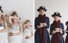 Diese Mutter kleidet sich selbst und die Kinder gleich: So erobern sie das Web