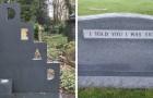 14 tombes géniales de personnes avec un sens de l'humour