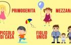 Secondo alcune ricerche l'ordine di nascita potrebbe influire sulla nostra personalità