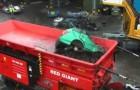 Máquina trituradora gigante