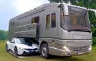 Ce camping-car de 2 millions de dollars est un bijou de technologie. Regardez à l'intérieur!